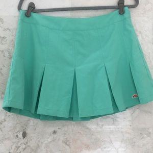 ELLESSE {L} Tennis Skirt Green NWT